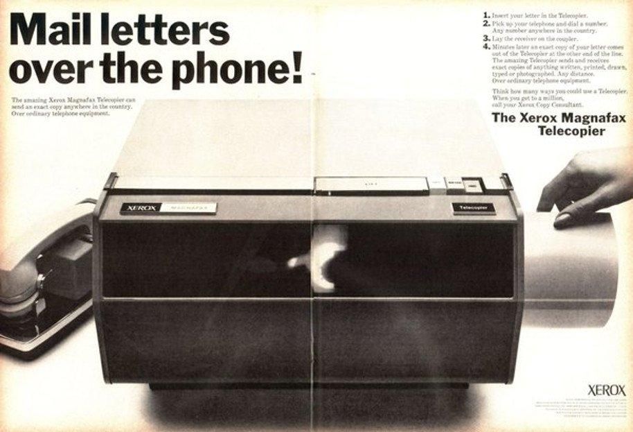 Maandagmorgen mijmering: innoveren voorbij fase Fax